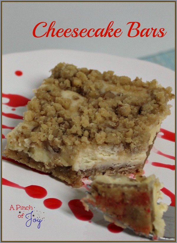 Cheesecake Bars A Pinch of Joy