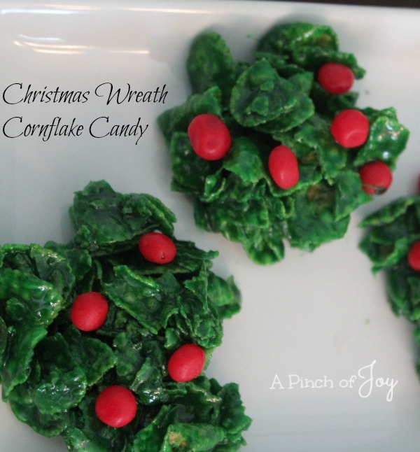Christmas Wreath Candy A Pinch of Joy