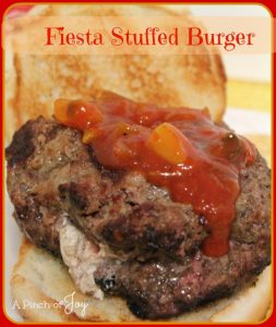 Stuffed Burger A Pinch of Joy