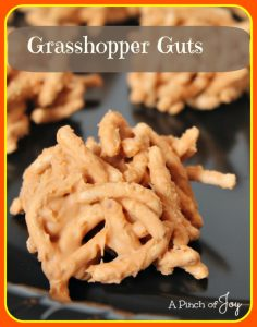 Grasshopper Guts - Halloween Candy A Pinch of Joy
