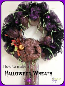 Halloween Wreath from A Pinch of Joy