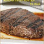 Seasoned Lemon Marinade for Steak -- A Pinch of Joy