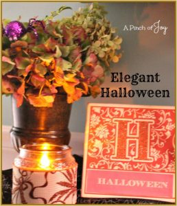 Elegant Halloween A Pinch of Joy