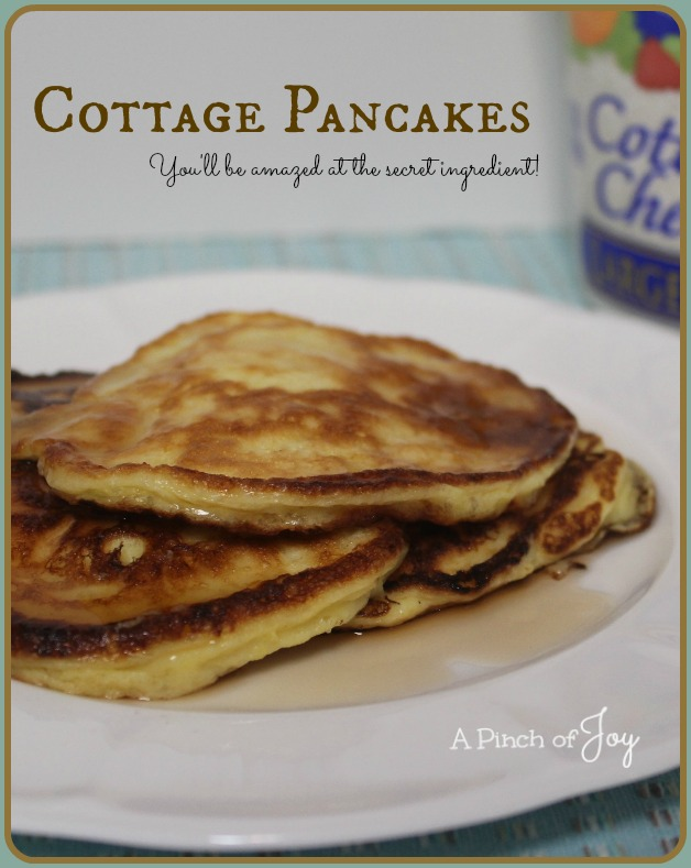 Cottage Pancakes  A Pinch of Joy