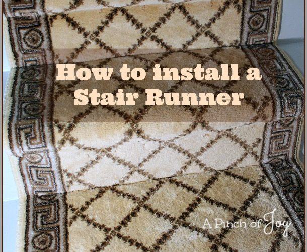Stellar Staircases — The Results or How to install a stair runner