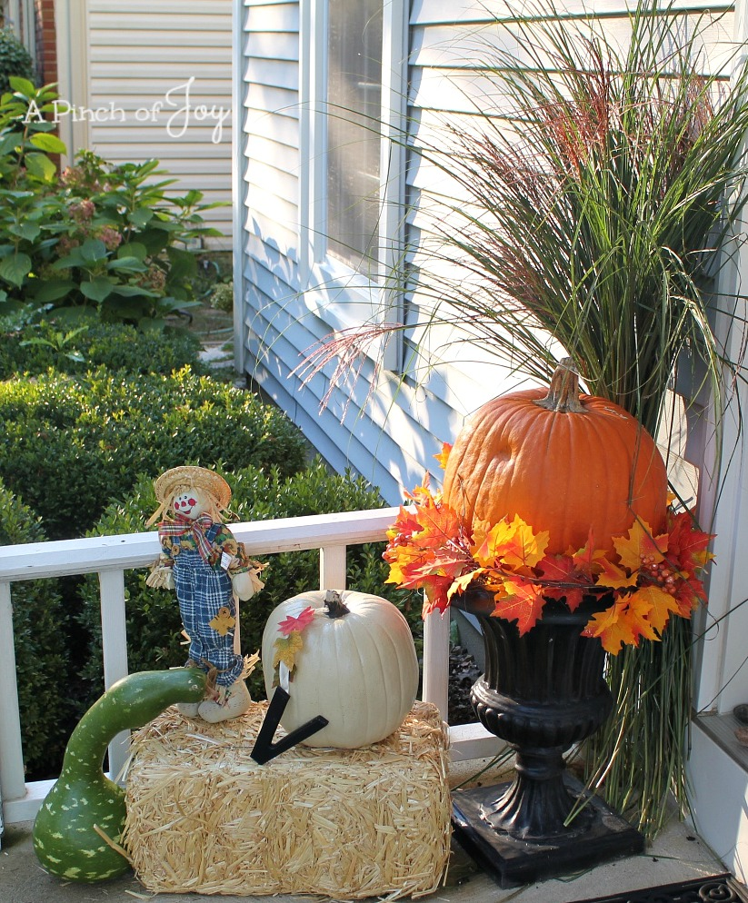 Autumn Porch West A Pinch of Joy
