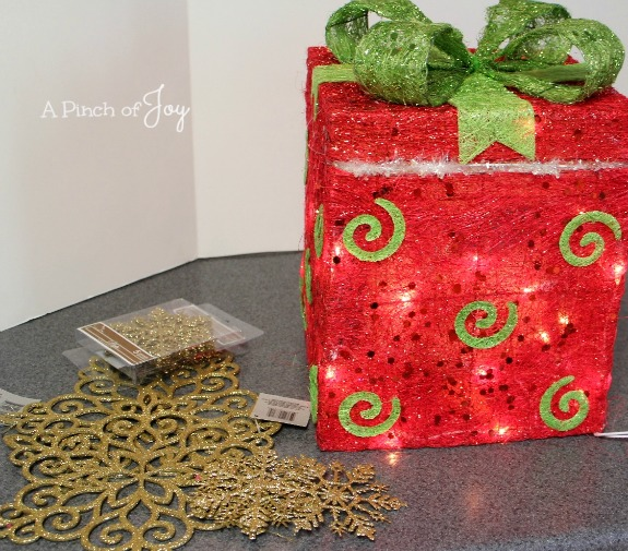 Outdoor Gift Box -- A Pinch of Joy