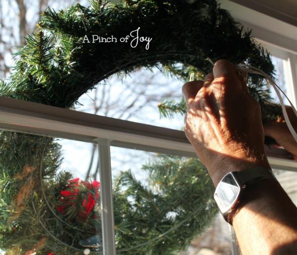 Hang A Wreath2 - A Pinch of Joy