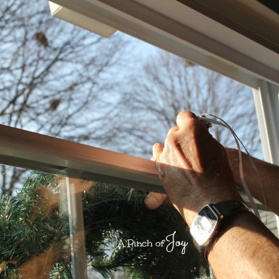 Hang A Wreath3 -- A Pinch of Joy