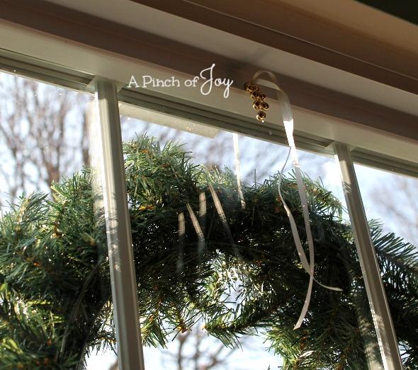 Hang A Wreath5 -- A Pinch of Joy
