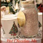 Hot Chocolate Mix -- A Pinch of Joy