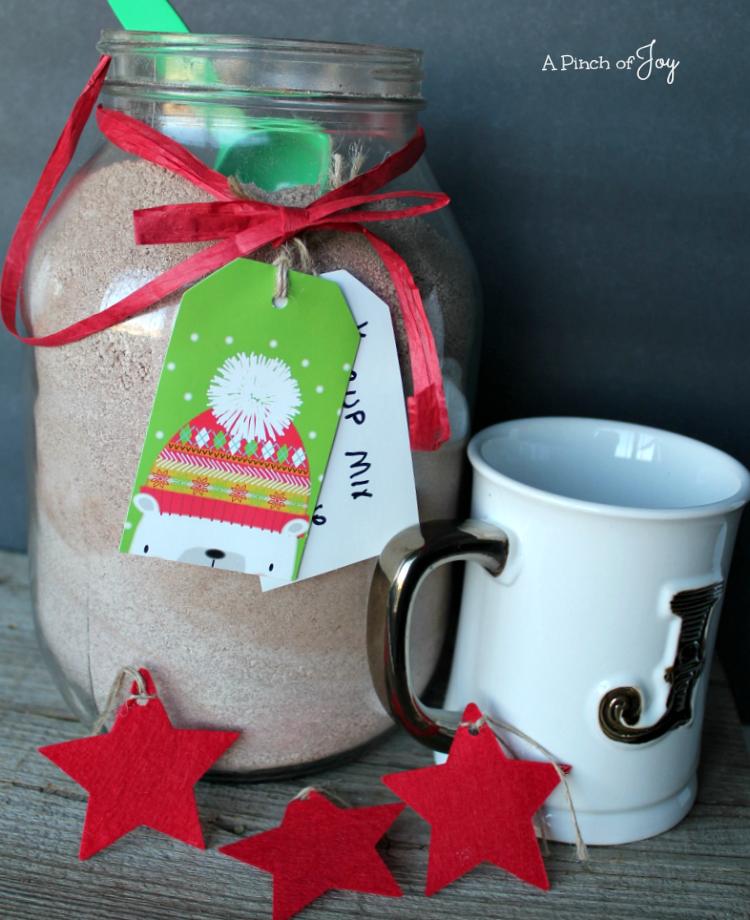Hot Chocolate Mix Big. -- A Pinch of Joy