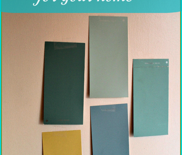 How to choose color for your home