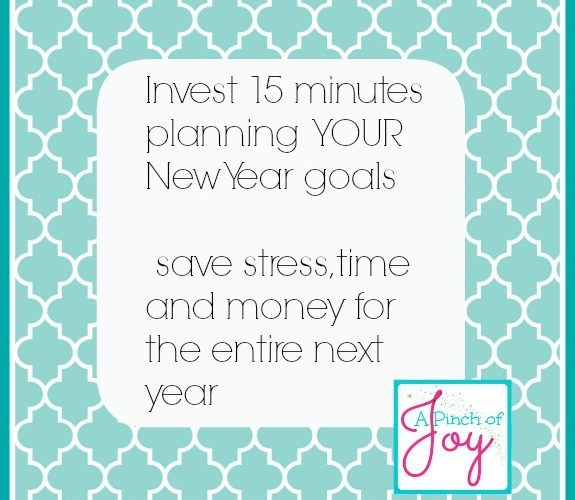 New Year Goals in 15 minutes