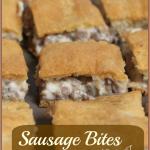 Sausage Bites -- A Pinch of Joy