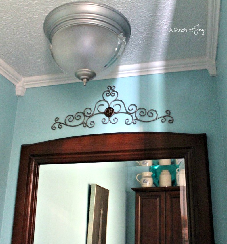 Powder Room Reveal -- A Pinch of Joy