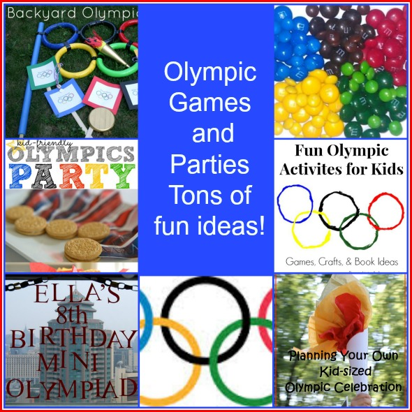Olympic Games and Parties -- A roundup by A Pinch of Joy