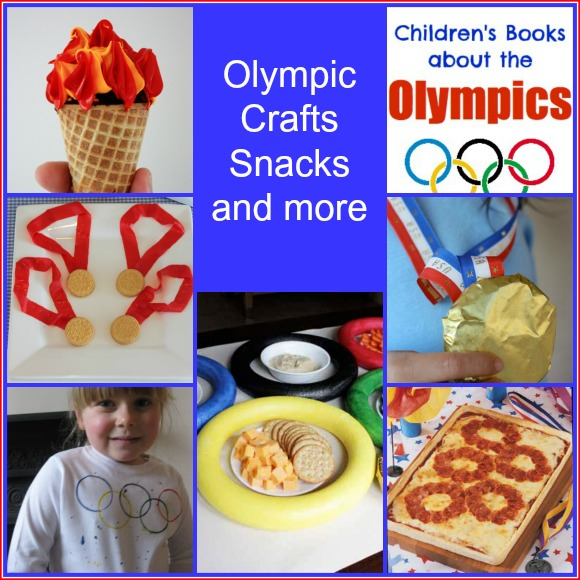 Olympic Crafts, snacks and more