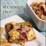 Rueben Dip -- A Pinch of Joy