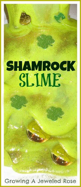 Shamrock Slime Kids Activity