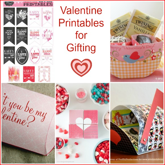 Valentine Printables for Gifting -- A Pinch of Joy