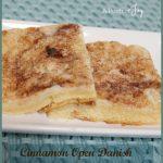 Cinnamon Open Danish -- A Pinch of Joy
