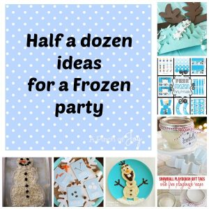 Ideas for a Frozen Party -- A Pinch of Joy Roundup