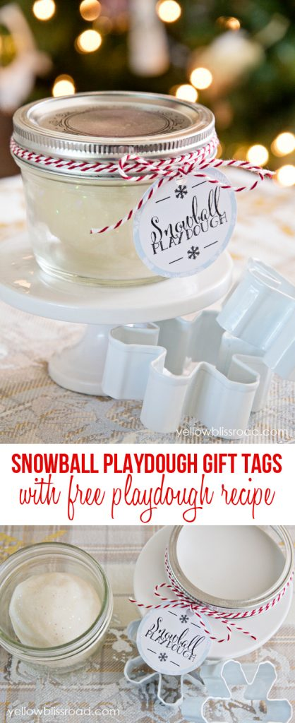 snowball-playdough-collage