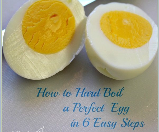 How to Hard Boil A Perfect Egg in 6 Easy Steps