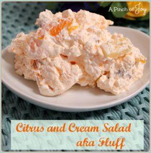 Citrus and Cream Salad aka Fluff