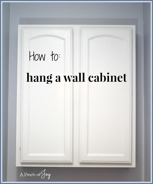 How to hang a bathroom cabinet on the wall 28 images for What to hang on bathroom walls