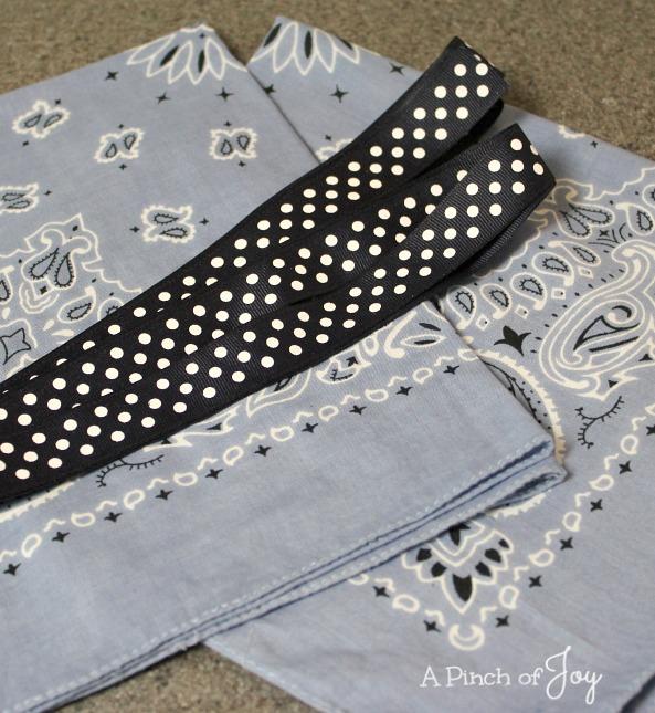 How to Make a Bandana Dress -- A Pinch of Joy