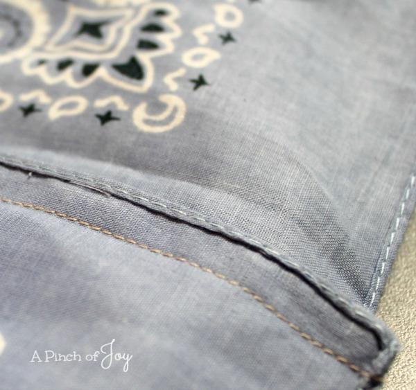 Stitch bandana dress -- A Pinch of Joy