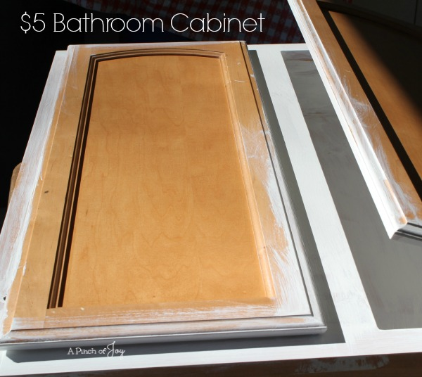 $5 Bathroom Cabinet
