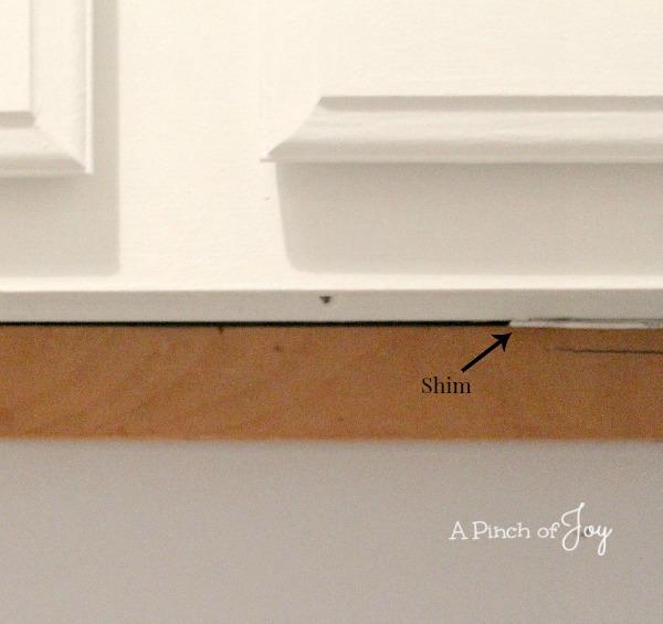 Add Shim -- A Pinch of Joy