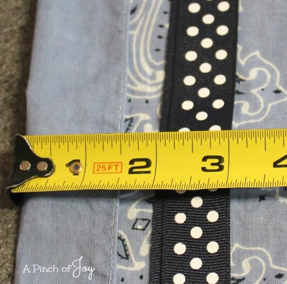 To make casing -- Bandana Dress -- A Pinch of Joy