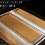 Bathroom Cabinet Transformation -- A Pinch of Joy