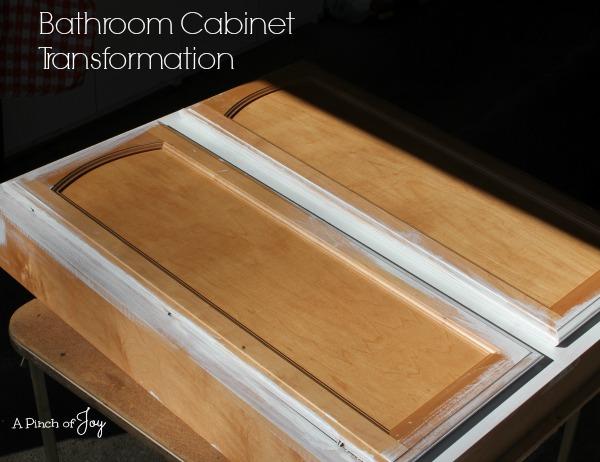 Bathroom Cabinet Transformation