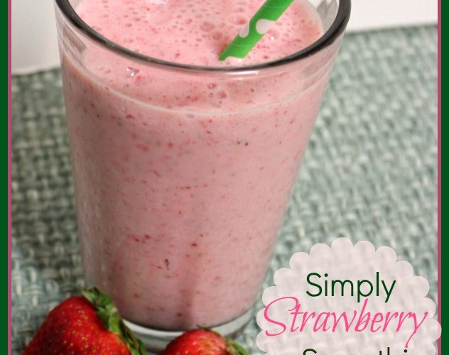 Simply Strawberry Smoothie