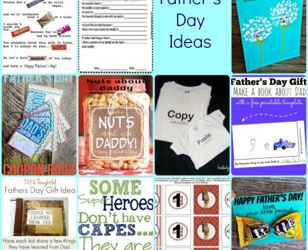 A dozen ideas for Father's Day
