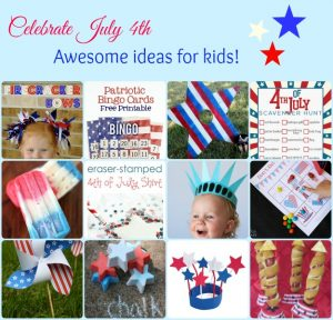 July Fourth Ideas for kids -- A Pinch of Joy