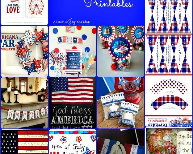 Patriotic Printables — Roundup