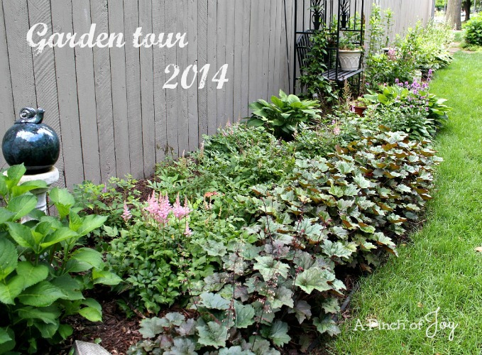 1Garden tour 2014 -- A Pinch of Joy