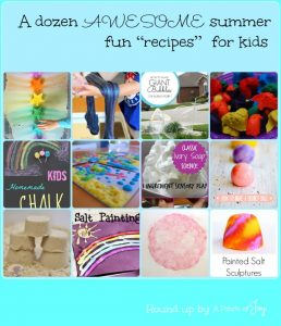 A Dozen Awesome Summer Fun Recipes for Kids