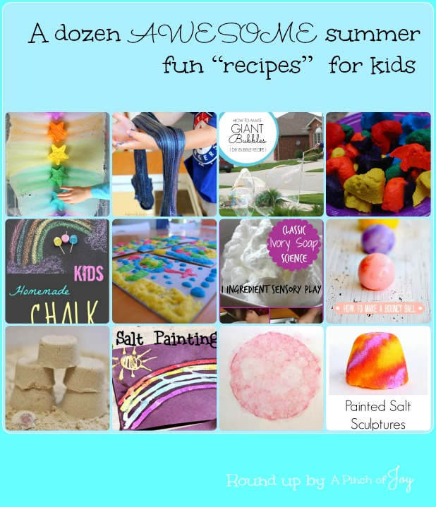Awesome Summer fun Recipes for kids -o- A Pinch of Joy