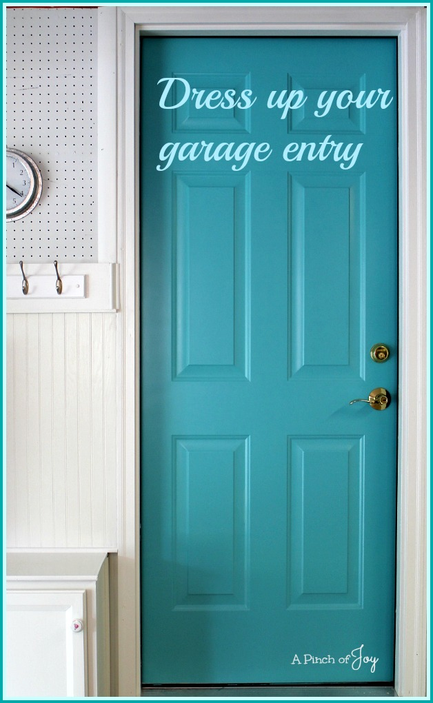 Dress Up Your Garage Entry