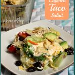 Layered Taco Salad -- A Pinch of Joy