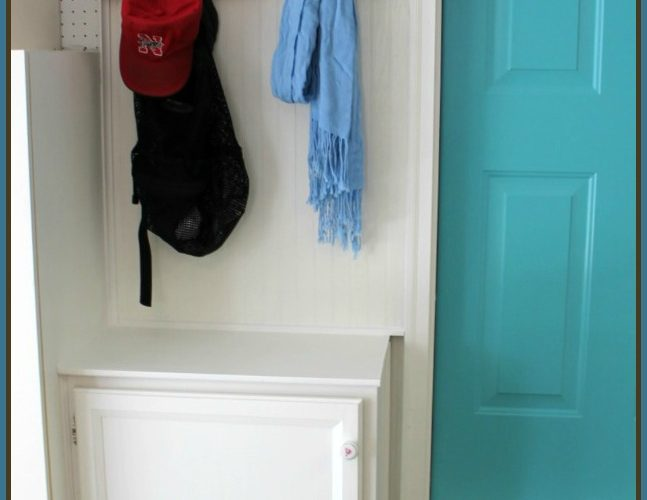Build a Mini Mudroom in Your Garage