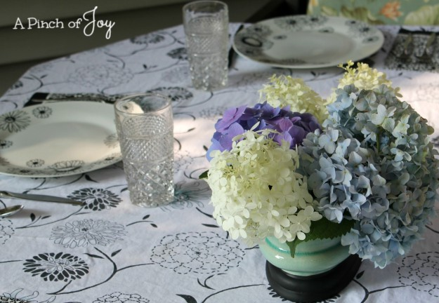 Centerpiece Casual Luncheon--A Pinch of Joy
