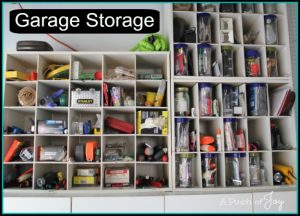 Garage Storage -- A Pinch of Joy